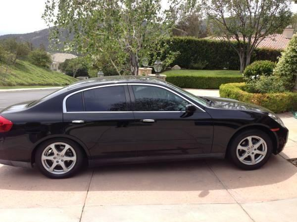 2004 Infiniti G35 Sedan For Sale In Calabasas California Classified