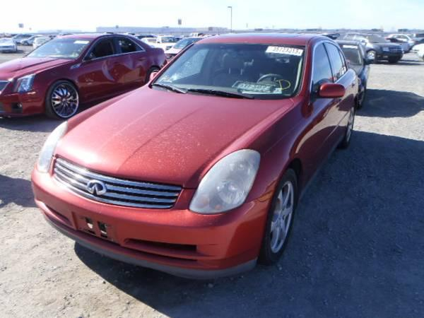 2004 Infiniti G35 Sedan Parting Out Parts For Sale In Rancho Cordova