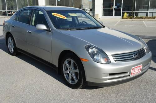 2004 infiniti g35x sedan 4dr car w leather amp navigation for sale in