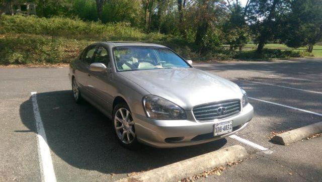2004 infiniti q45 premium package silver 88k mi. Black Bedroom Furniture Sets. Home Design Ideas