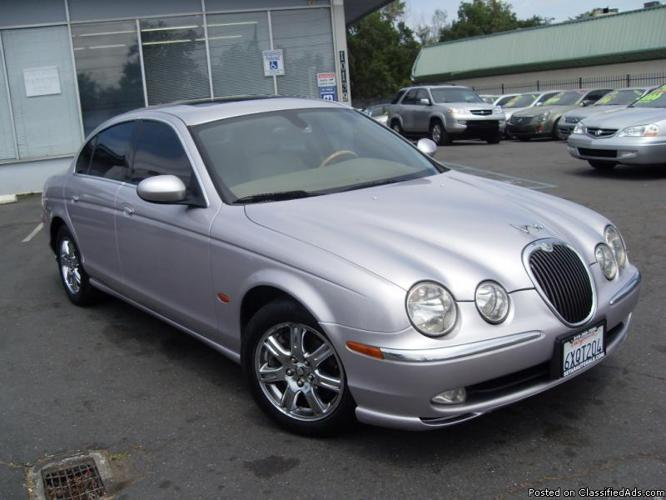 2004 jaguar s type 4dr silver fully loaded leather great. Black Bedroom Furniture Sets. Home Design Ideas