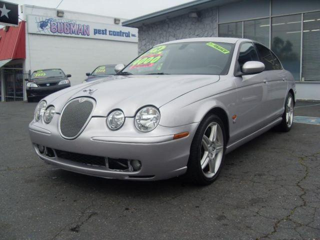 2004 jaguar s type type r silver v8 luxury sedan super. Black Bedroom Furniture Sets. Home Design Ideas