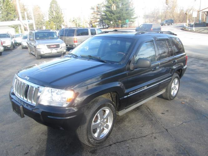 2004 jeep grand cherokee 4dr overland 4wd for sale in worcester massachusetts classified. Black Bedroom Furniture Sets. Home Design Ideas