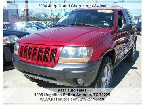 2004 jeep grand cherokee 6 cylinder red for sale in san antonio texas classified. Black Bedroom Furniture Sets. Home Design Ideas