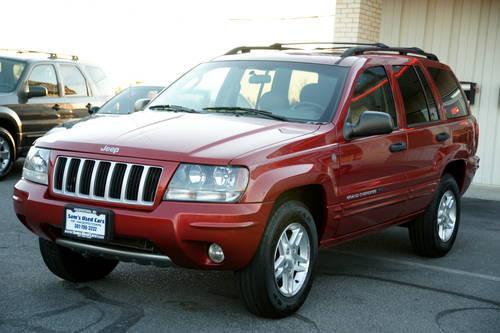 cherokee jeep 2004 grand laredo se 4x4 miles 115k auto americanlisted hagerstown maryland