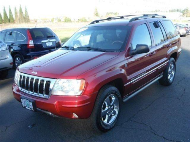 2004 jeep grand cherokee overland for sale in mcminnville oregon classified. Black Bedroom Furniture Sets. Home Design Ideas