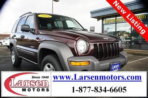 2004 jeep liberty 4d sport utility sport for sale in for Larsen motors mcminnville oregon