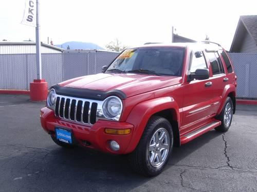 2004 jeep liberty 4dr 4x4 limited edition limited edition for sale in grants pass oregon. Black Bedroom Furniture Sets. Home Design Ideas