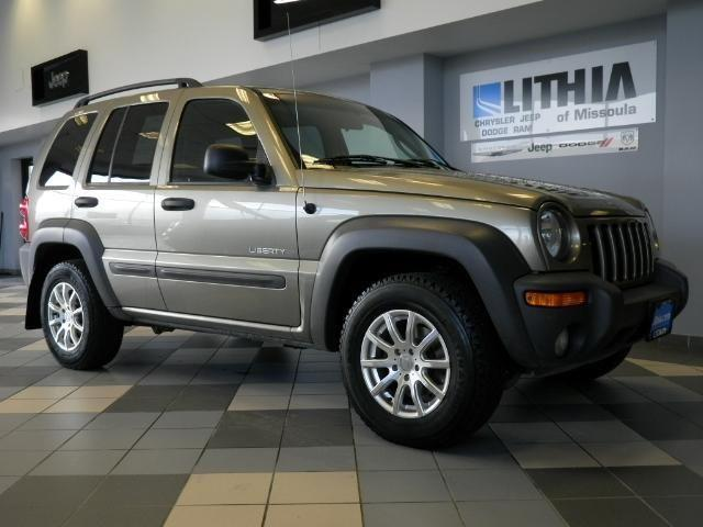 2004 jeep liberty 4dr 4x4 sport sport for sale in missoula montana classified. Black Bedroom Furniture Sets. Home Design Ideas