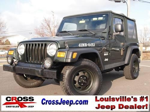 2004 jeep wrangler 2d sport utility willys edition for sale in louisville kentucky classified. Black Bedroom Furniture Sets. Home Design Ideas