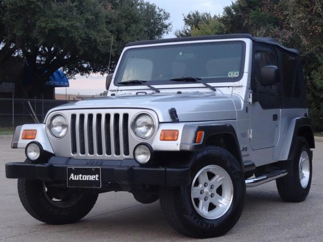 2004 jeep wrangler 2dr x 5 speed 1owner for sale in dallas texas classified. Black Bedroom Furniture Sets. Home Design Ideas