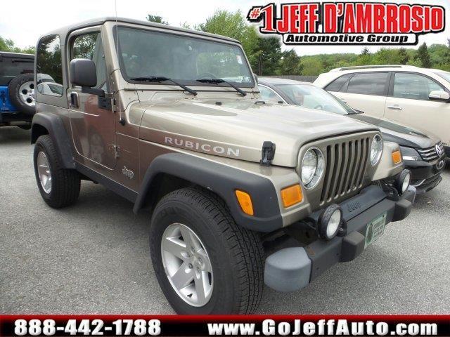 2004 jeep wrangler rubicon 2dr rubicon 4wd suv for sale in. Black Bedroom Furniture Sets. Home Design Ideas