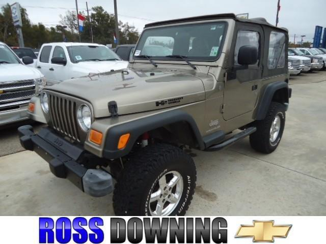 2004 jeep wrangler se for sale in hammond louisiana classified. Black Bedroom Furniture Sets. Home Design Ideas