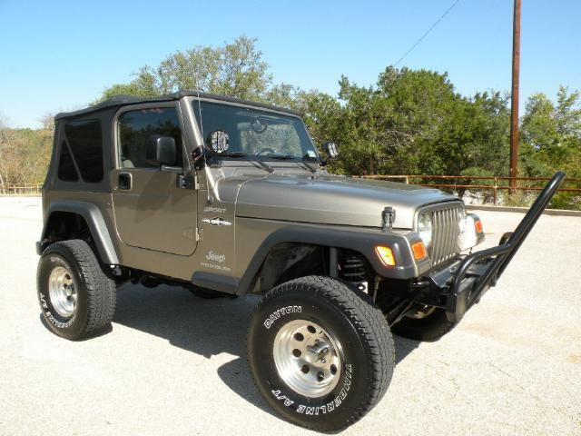 2004 jeep wrangler sport for sale in belton texas classified. Black Bedroom Furniture Sets. Home Design Ideas