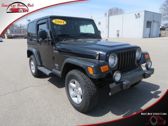 2004 jeep wrangler sport sport 4wd 2dr suv for sale in wyoming michigan classified. Black Bedroom Furniture Sets. Home Design Ideas