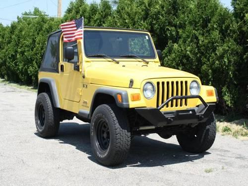 2004 jeep wrangler sport utility 2dr x for sale in lowell michigan classified. Black Bedroom Furniture Sets. Home Design Ideas
