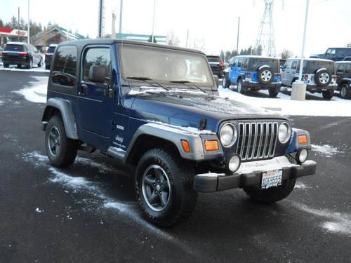 2004 Jeep Wrangler Suv X For Sale In Spokane Washington