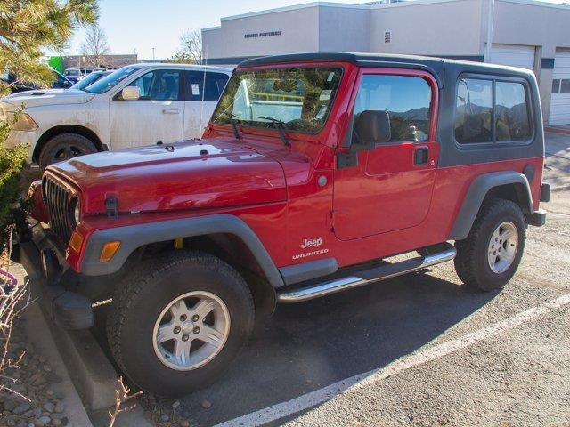 2004 Jeep Wrangler Unlimited Unlimited 4WD 2dr SUV