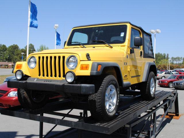 2004 jeep wrangler x for sale in smithfield north carolina classified. Black Bedroom Furniture Sets. Home Design Ideas