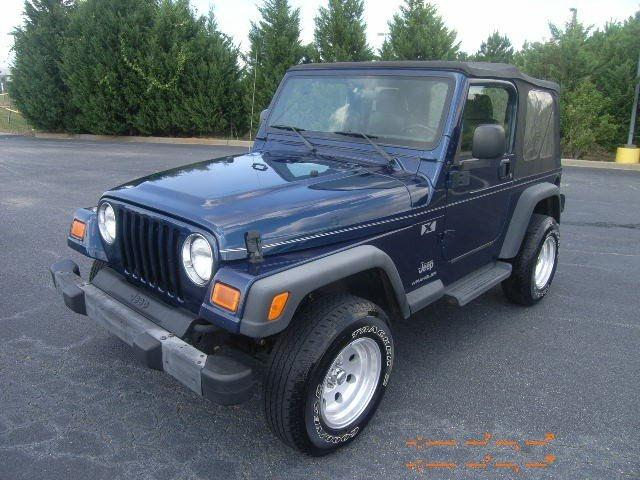 2004 jeep wrangler x for sale in thomson georgia classified. Cars Review. Best American Auto & Cars Review