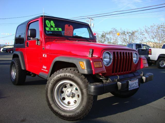 2004 jeep wrangler x for sale in lakeport california classified. Cars Review. Best American Auto & Cars Review