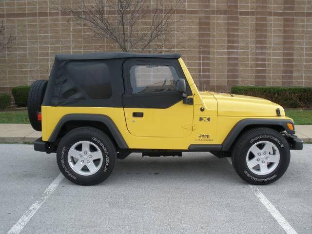 2004 jeep wrangler x for sale in springdale arkansas classified. Black Bedroom Furniture Sets. Home Design Ideas