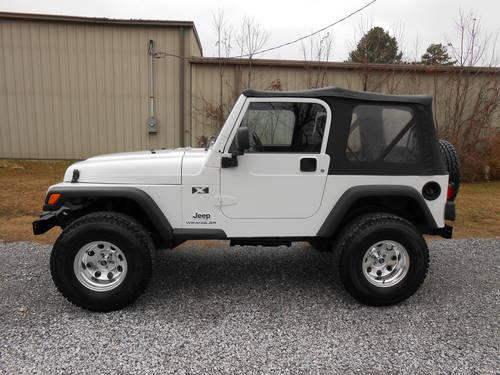 2004 jeep wrangler x for sale in gadsden alabama. Black Bedroom Furniture Sets. Home Design Ideas