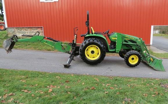 John Deere 4710 Compact Tractor : John deere wd hrs hp for sale in liberty