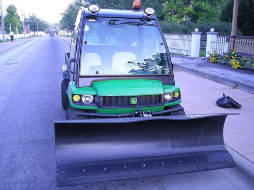 2004 John Deere Gator 4x4 with Cab & Plow