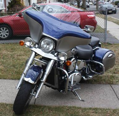 2004 KAWASAKI VULCAN NOMAD WITH RECKLESS FAIRING SUPER ...