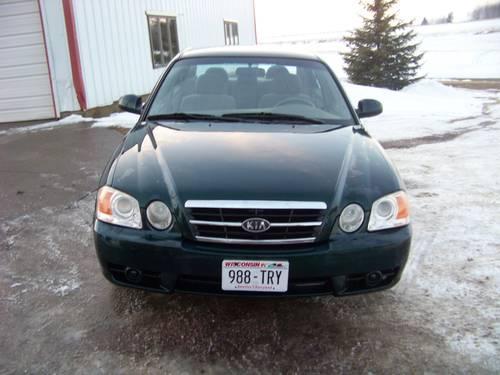 2004 kea Optima 4cylinder auto 120,000 mi