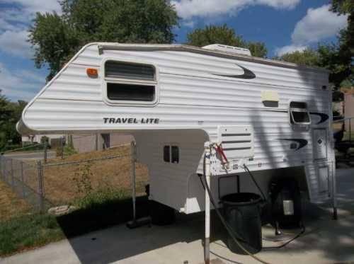 2004 keystone travel lite 800sbx truck camper in omaha ne for sale in omaha nebraska. Black Bedroom Furniture Sets. Home Design Ideas