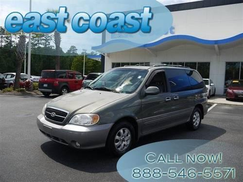 2004 kia sedona mini van passenger ex with cd and cruise and sunroof for sale in myrtle beach. Black Bedroom Furniture Sets. Home Design Ideas