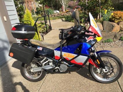 2004 KTM Adventure 950 Custom