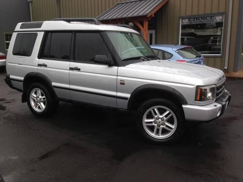 2004 land rover discovery ii se7 for sale in gresham oregon classified. Black Bedroom Furniture Sets. Home Design Ideas