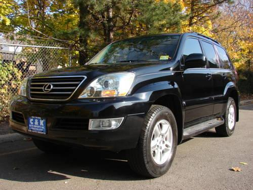 2004 lexus gx470 black tan navigation 3rd row seat running boards heat for sale in hasbrouck. Black Bedroom Furniture Sets. Home Design Ideas