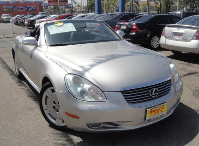 2004 lexus sc 430 for sale in bell california classified. Black Bedroom Furniture Sets. Home Design Ideas