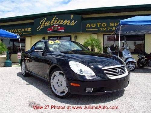 2004 lexus sc 430 convertible for sale in new port richey florida classified. Black Bedroom Furniture Sets. Home Design Ideas