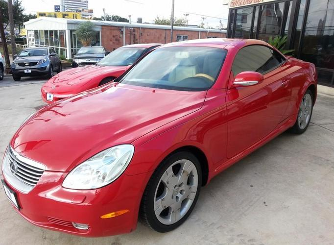 2004 lexus sc 430 convertible for sale in san antonio texas classified. Black Bedroom Furniture Sets. Home Design Ideas