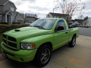 2004 Limited Edition Lime Green Dodge Hemi Gtx Very Low