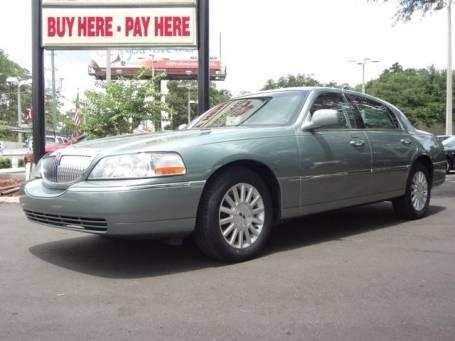 2004 lincoln town car ultimate for sale in jacksonville florida classified. Black Bedroom Furniture Sets. Home Design Ideas