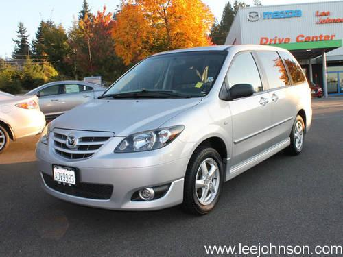2004 mazda mpv 4 dr for sale in houghton washington. Black Bedroom Furniture Sets. Home Design Ideas