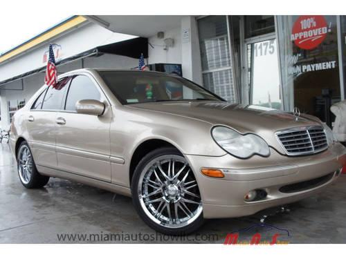 2004 mercedes benz c class 4 dr sedan c240 for sale in hialeah florida classified. Black Bedroom Furniture Sets. Home Design Ideas