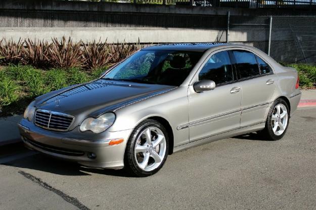 2004 Mercedes Benz C230 4dr Sedan Sport 1 8l Automatic C