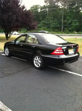 2004 mercedes benz c240 4matic black for sale in beemerville new jersey classified. Black Bedroom Furniture Sets. Home Design Ideas