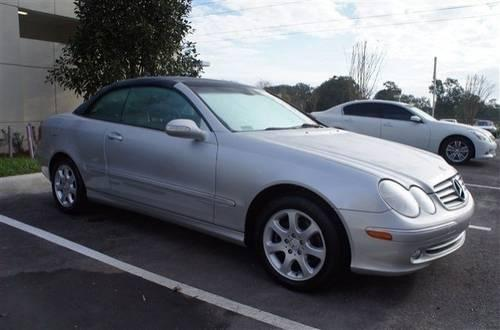 2004 mercedes benz clk class convertible cabriolet 3 2l for Mercedes benz lake forest