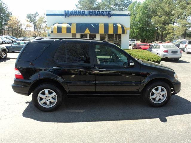 2004 mercedes benz m class ml500 4matic for sale in for Mercedes benz raleigh north carolina