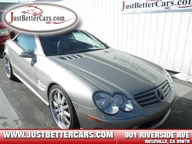 2004 mercedes benz sl500 convertible 2dr roadster 5 0l for for Mercedes benz roseville