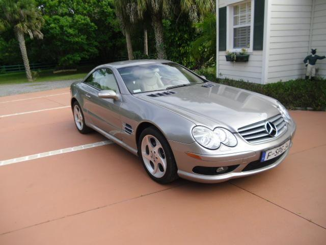 2004 mercedes benz sl500 pewter automatic 51k miles for Mercedes benz panama city fl