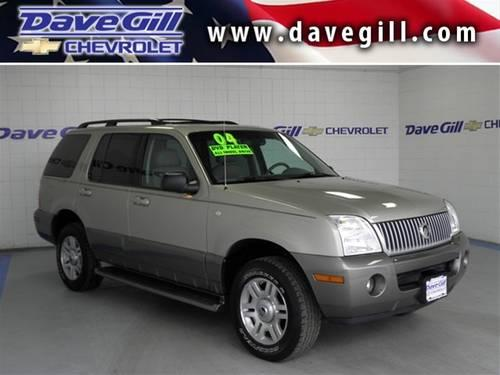 2004 Mercury Mountaineer Suv 4 6l V8 For Sale In Columbus